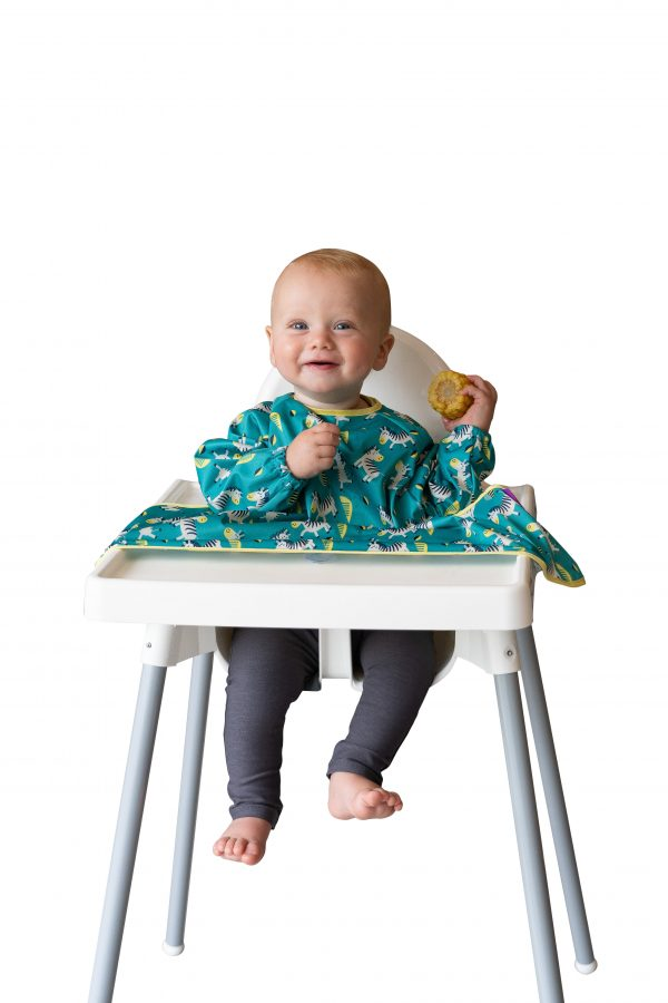 cover and catch coverall weaning bib